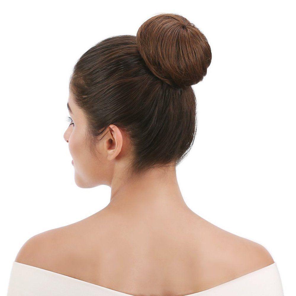 Synthetic Up Do Hair Bun Extension Donuts Chignon Hairpiece
