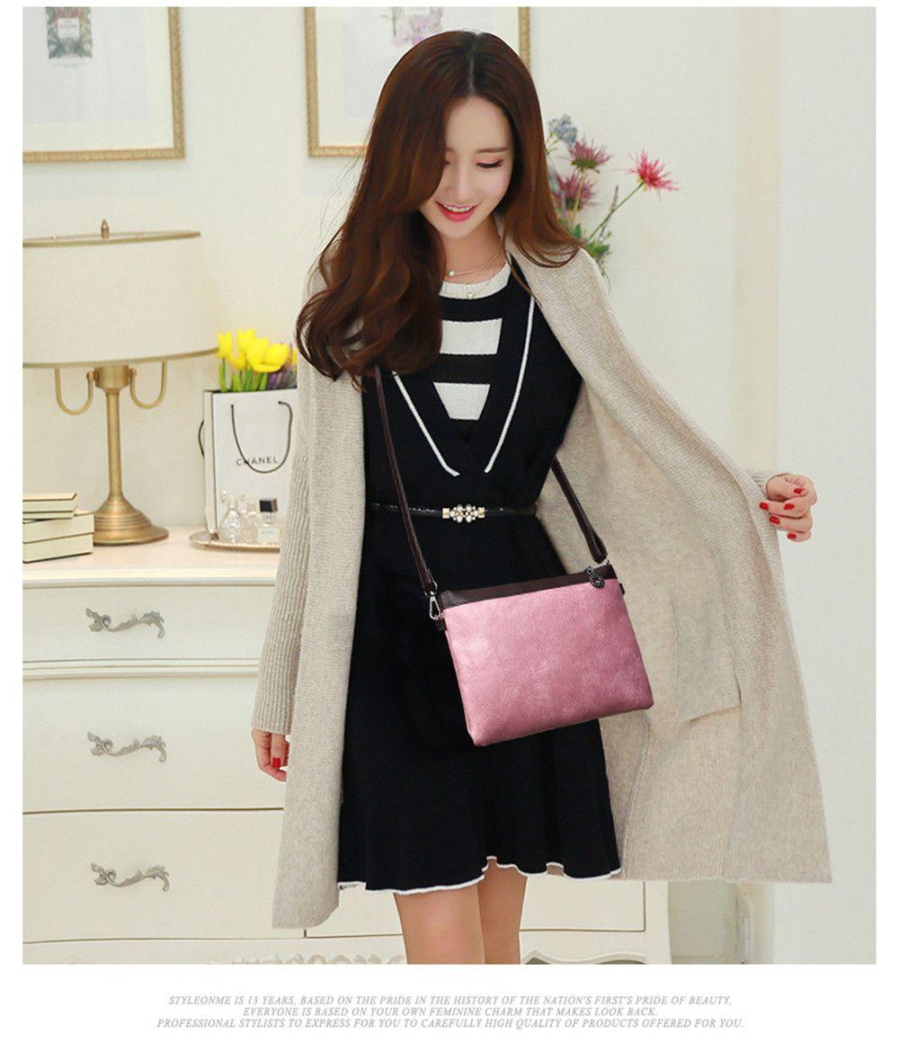 Women's Three-Piece Messenger Lady Portable Shoulder Small Bag