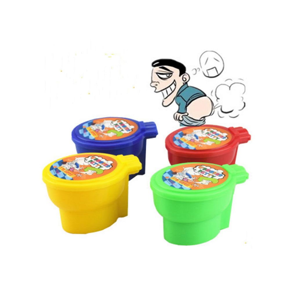Non-toxic Polymer Noise Putty Surprise Squishy Jumping Clay Fart Toy