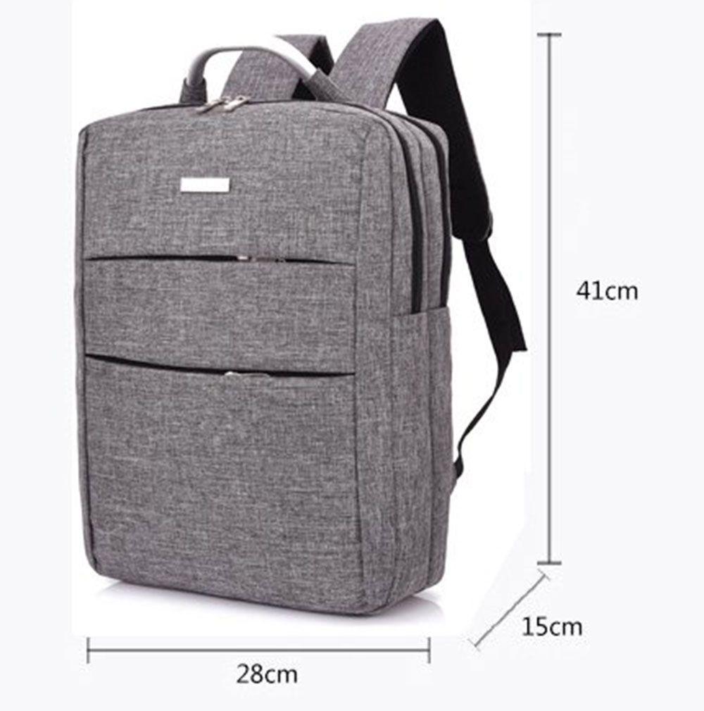 Men's Large Capacity Casual Computer Travel Backpack Multi-pocket Men's Business Bag