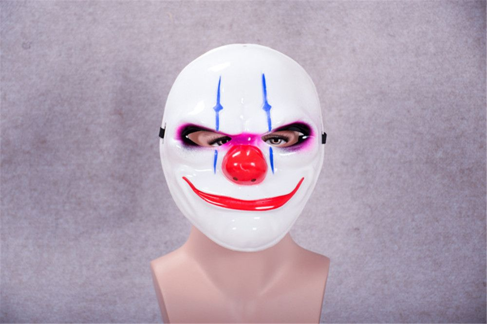 Halloween Horror Mask Newest Topic Game Series Plastic Masquerade Supplies