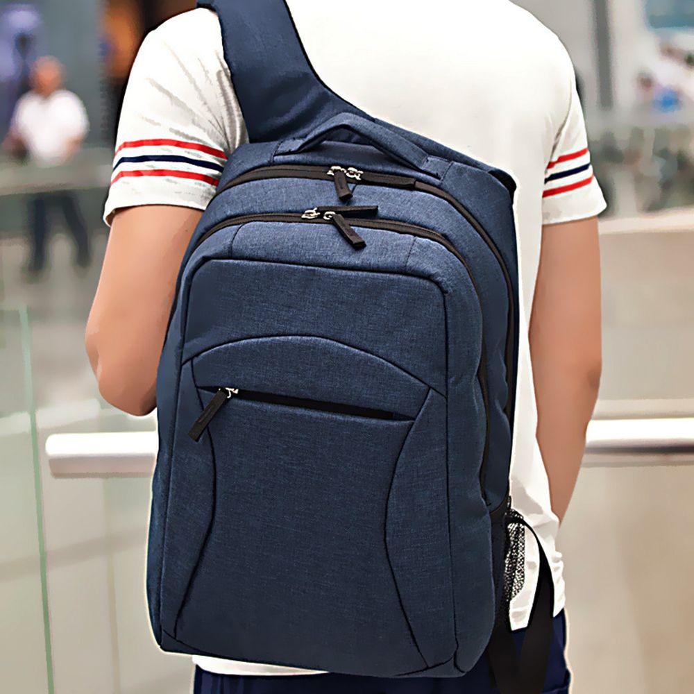 1PC Casual Men'S Bag Shoulder Backpack Travel Bags School Students