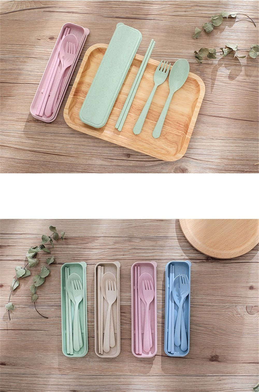 Dinnerware Set Handmade Dinner Fork Cutlery for Kids Kitchen Picnic Tableware