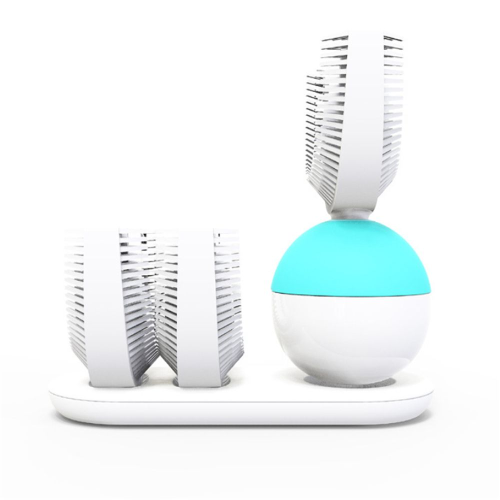 Automatic Electric Sonic Toothbrush Quickly Brush in 10S USB Wireless Charging Powered Rechargeable
