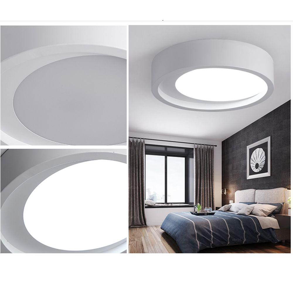 ZUOGE DJBXD01 Modern Creative Half Moon Type Bedroom Ceiling Lamp