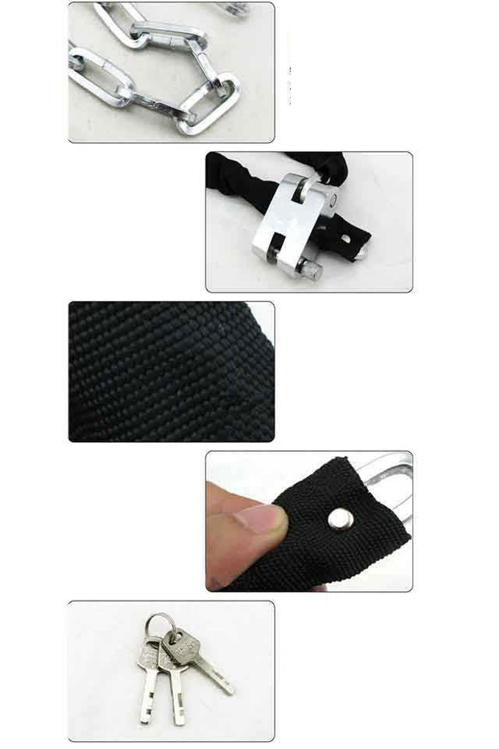 Chain Anti-theft Lock for Motorcycle