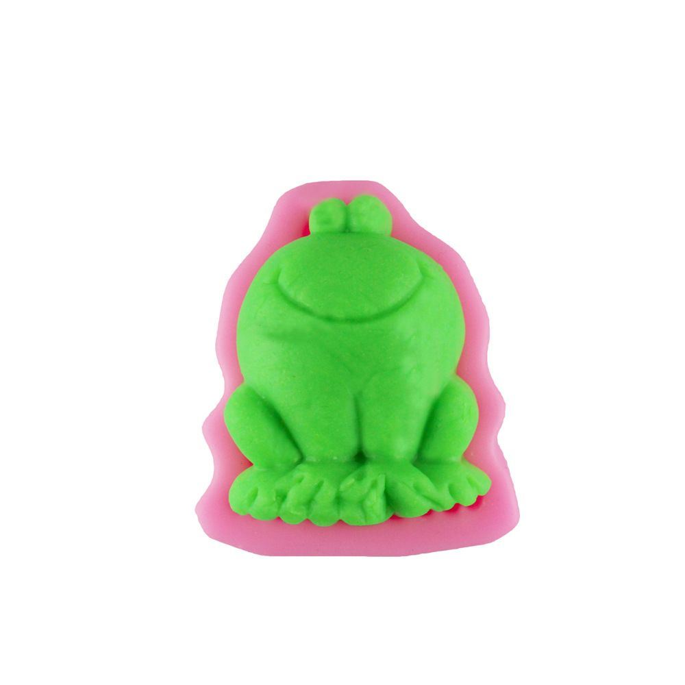 Frog Modeling Food-Grade Silicone Fondant Mold