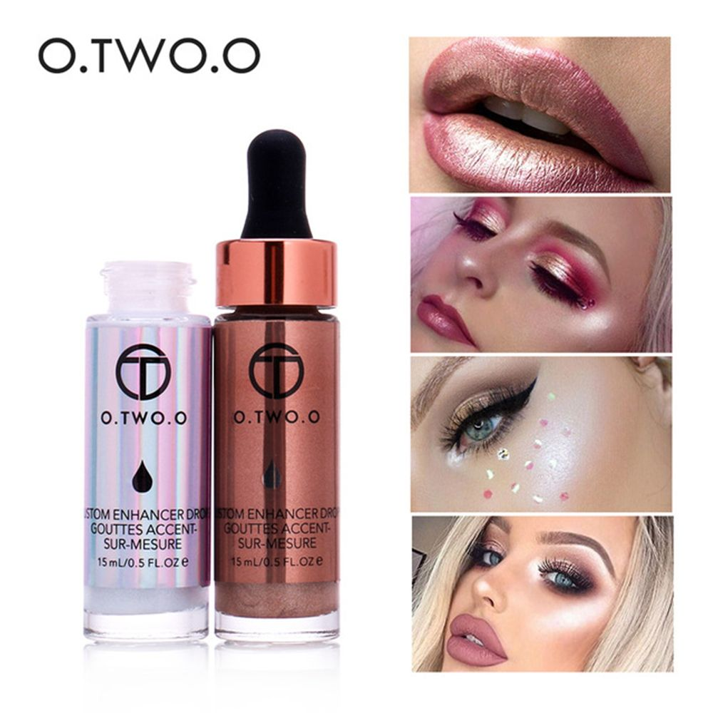 OTWOO Liquid Highlighter Make Up Concealer Shimmer Face Glow Ultra-concentrated Illuminating Bronzing