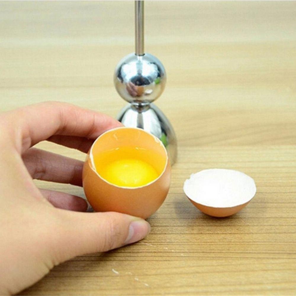 1 Pc New Stainless Steel Raw Eggshell Topper Cutter Egg Opener