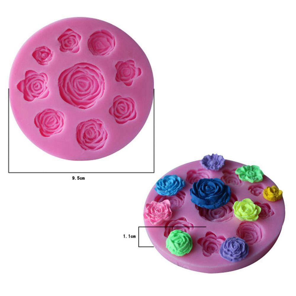 WS 0239 Rose Baking Sugar Cake Mold