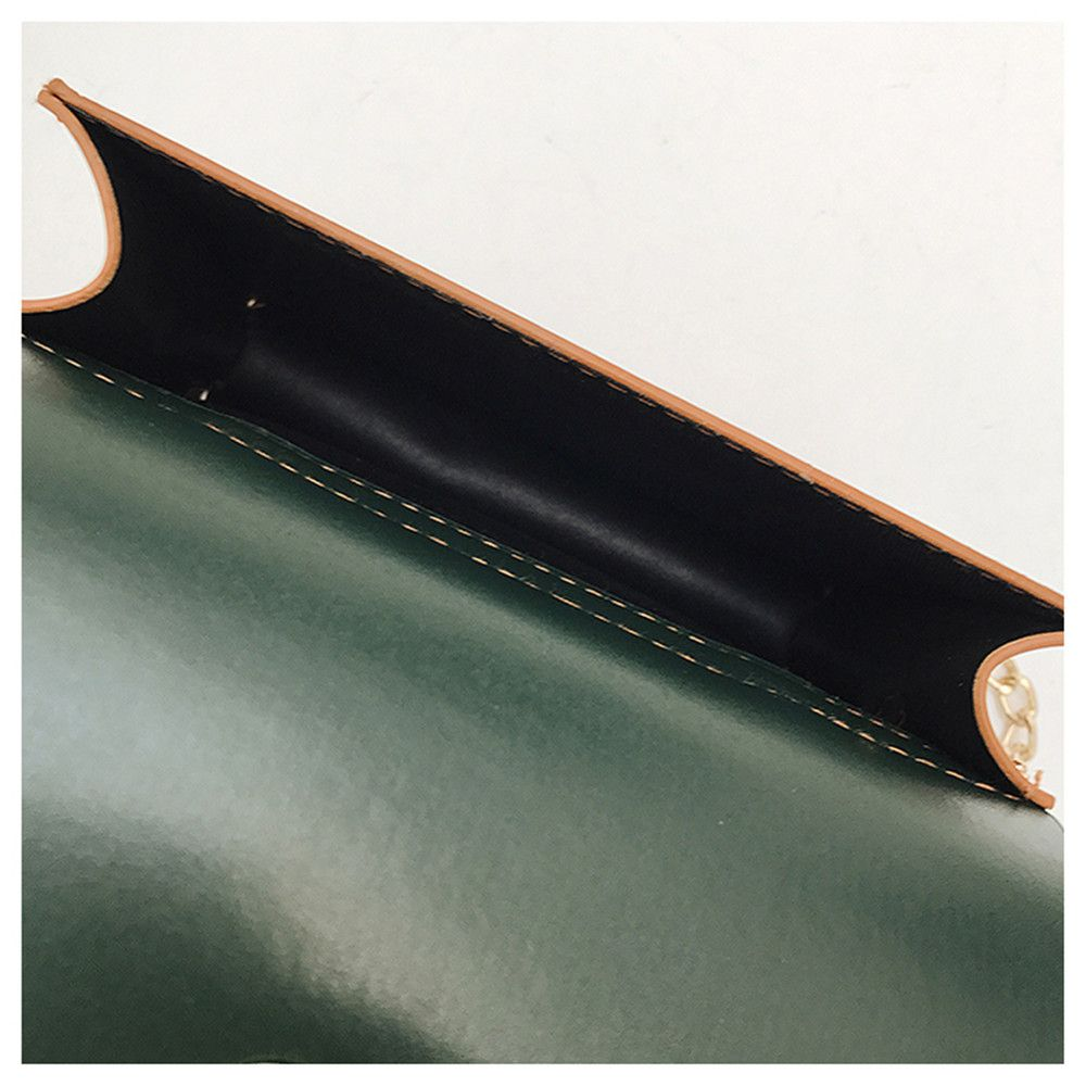 Hit Color Handbags Simple Harajuku Chain Shoulder Messenger Bag