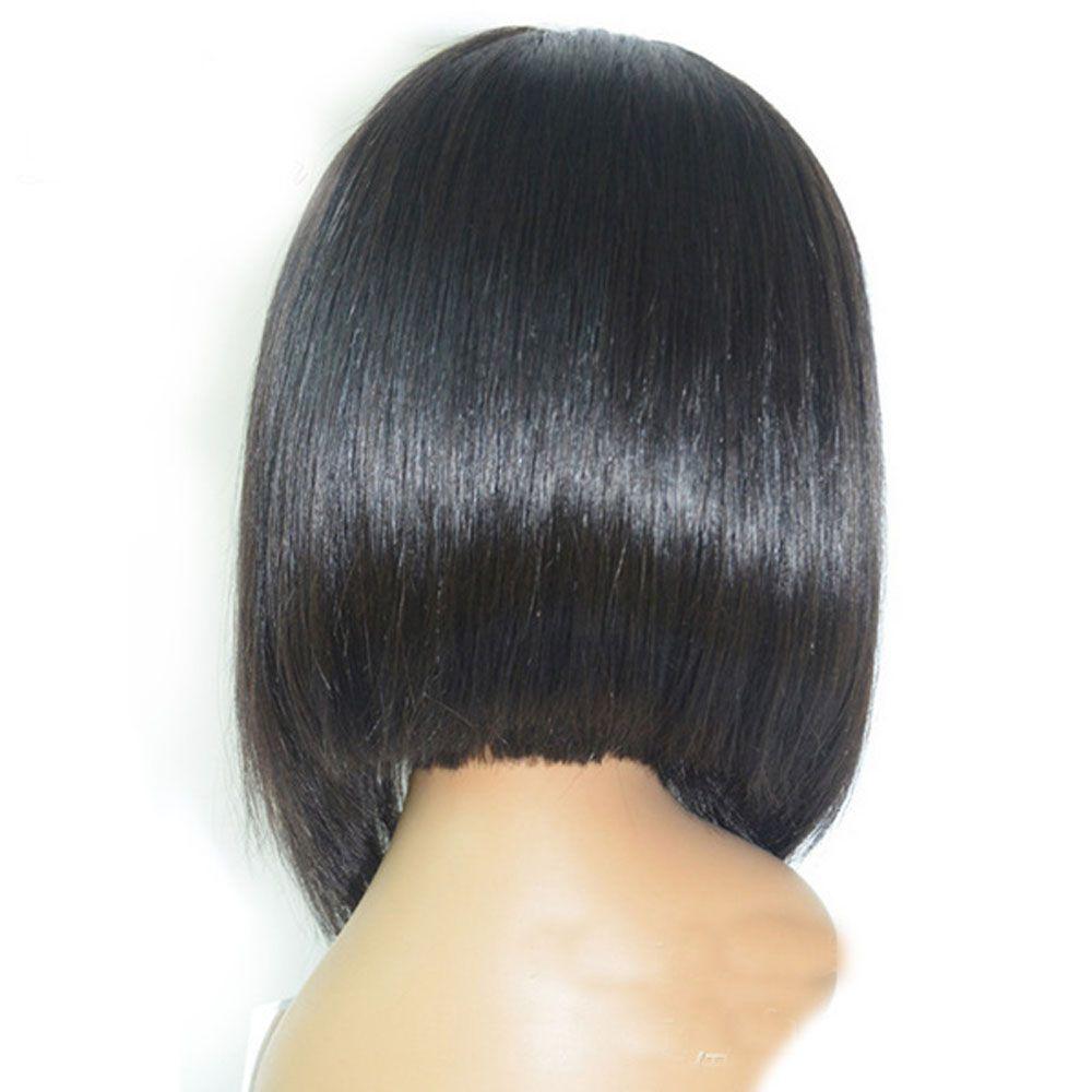 Ladies Bobo Head Fashion Face Repair Wigs