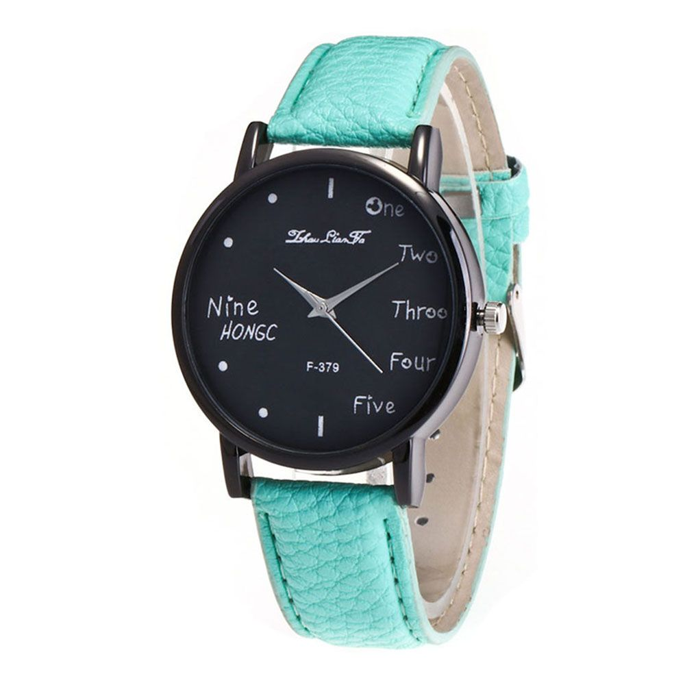 Zhou Lianfa Simple Casual Black Watch