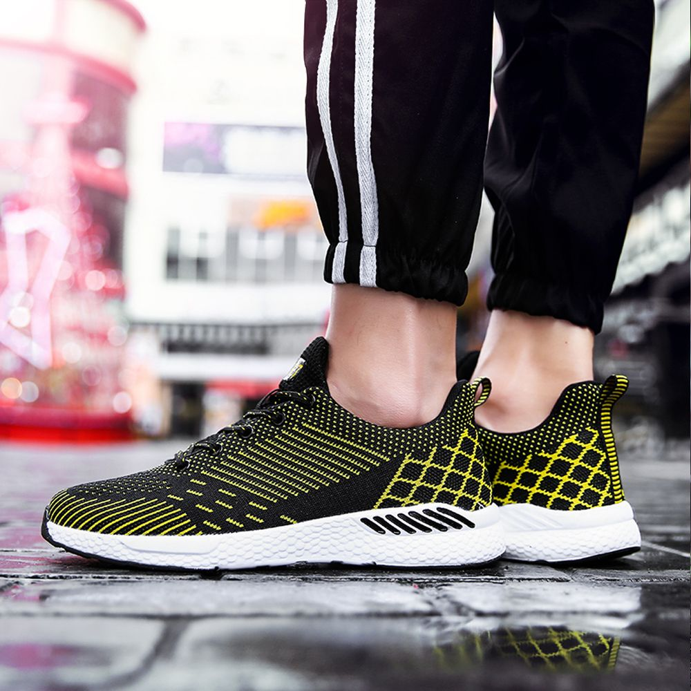 Flying Knitted Unisex Running Shoes