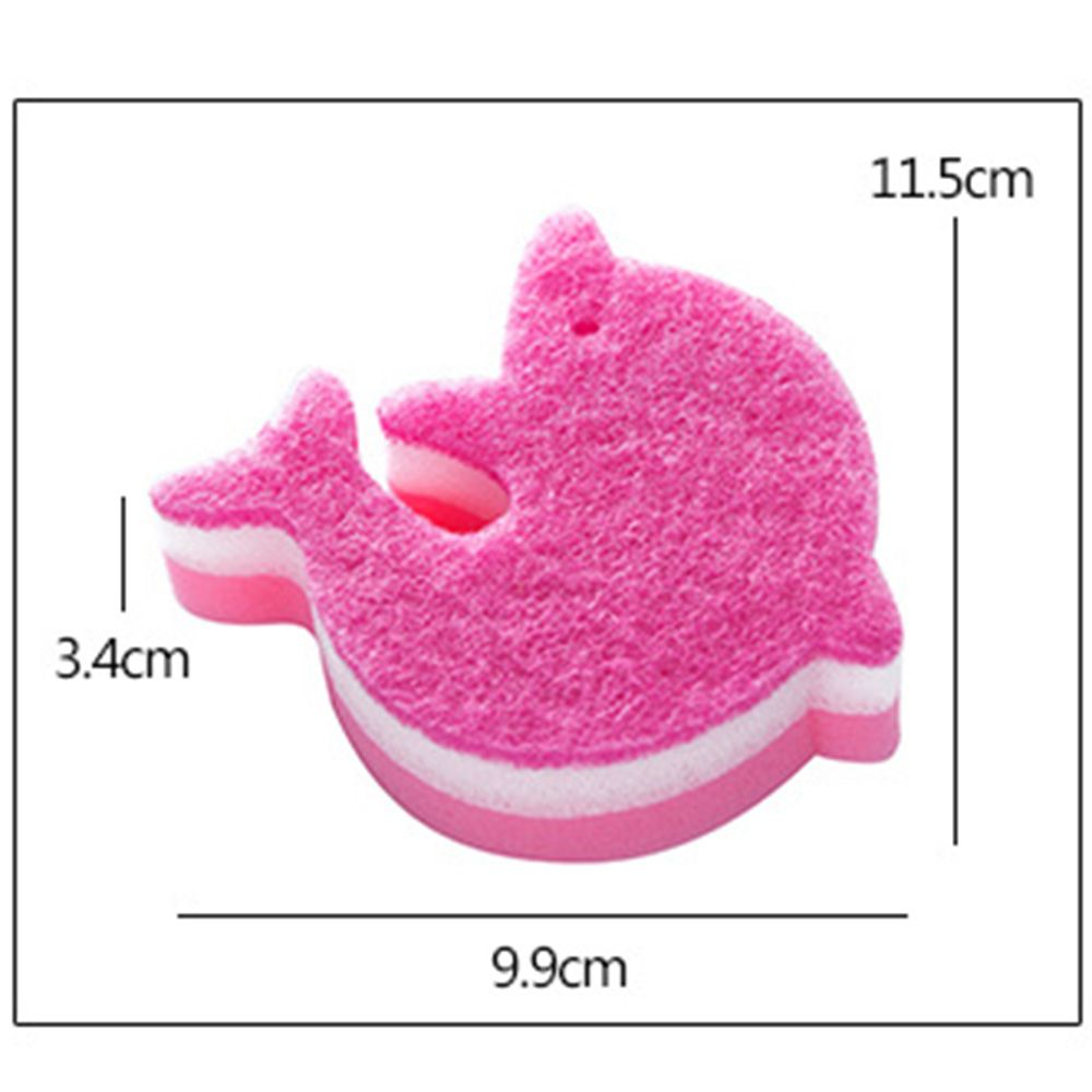Dolphin Shape Kitchen Sponge Cleaning Cloth