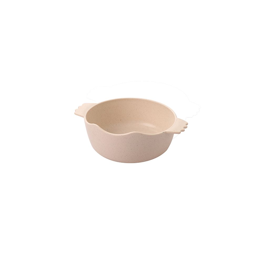 Bamboo Fiber Plastic Bamboo Fragrance Children'S Double Ear Bowl Natural Environmental Protection