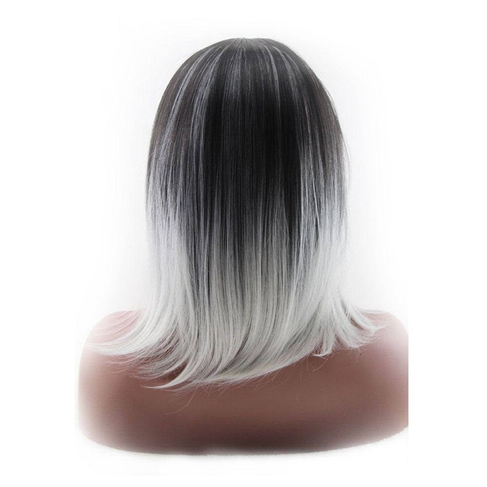 Long Straight Hair Lady OL Wig