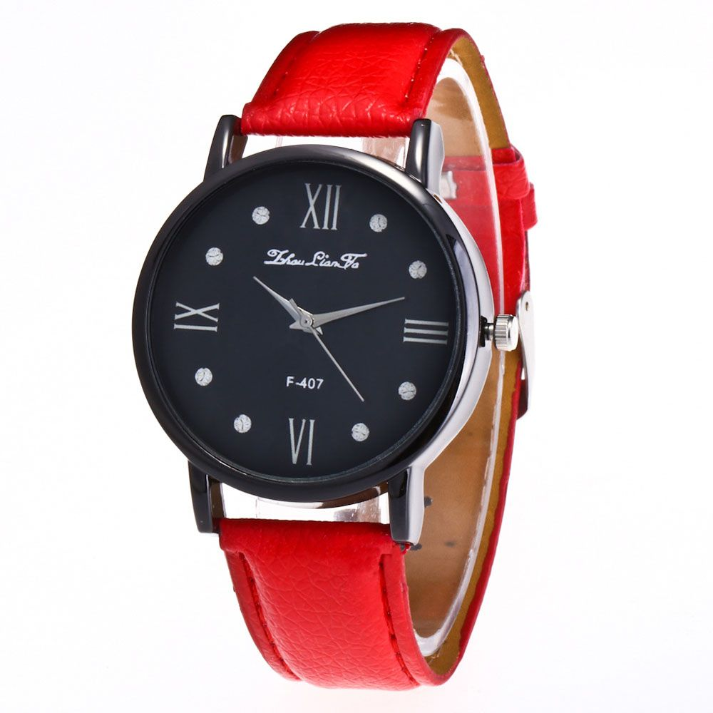 Zhou Lianfa Brand Litchi Fashion Watch