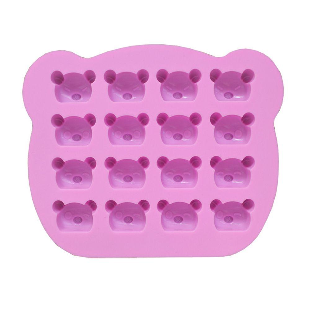 2 Pcs Koala Bear Silicone Mold Baking Utensils Bakeware Jelly Candy Clay Making Decoration