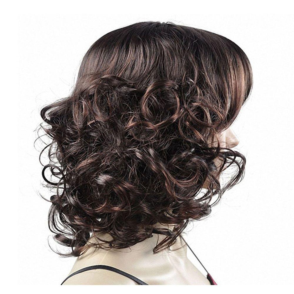 Ladies Fashion Fluffy Short Curly Wigs