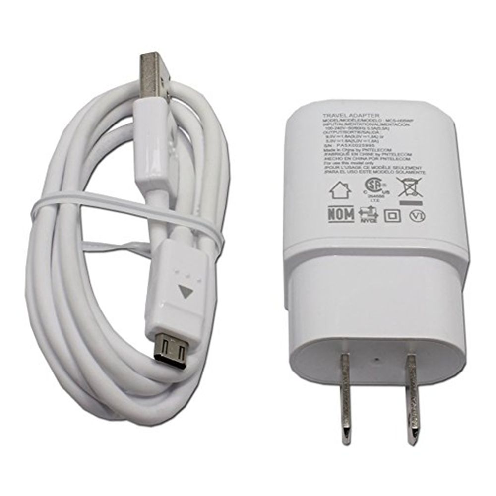 Travel Adapter Fast Charger Cable for G4 G Flex 2 V10