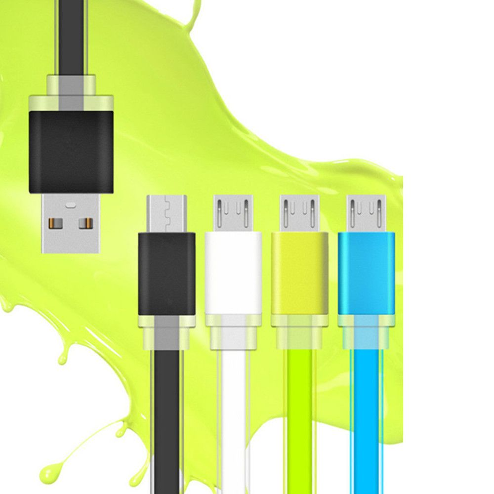 1 Meter Micro USB Data Charger Cable Cord for Android Phones Candy Colors