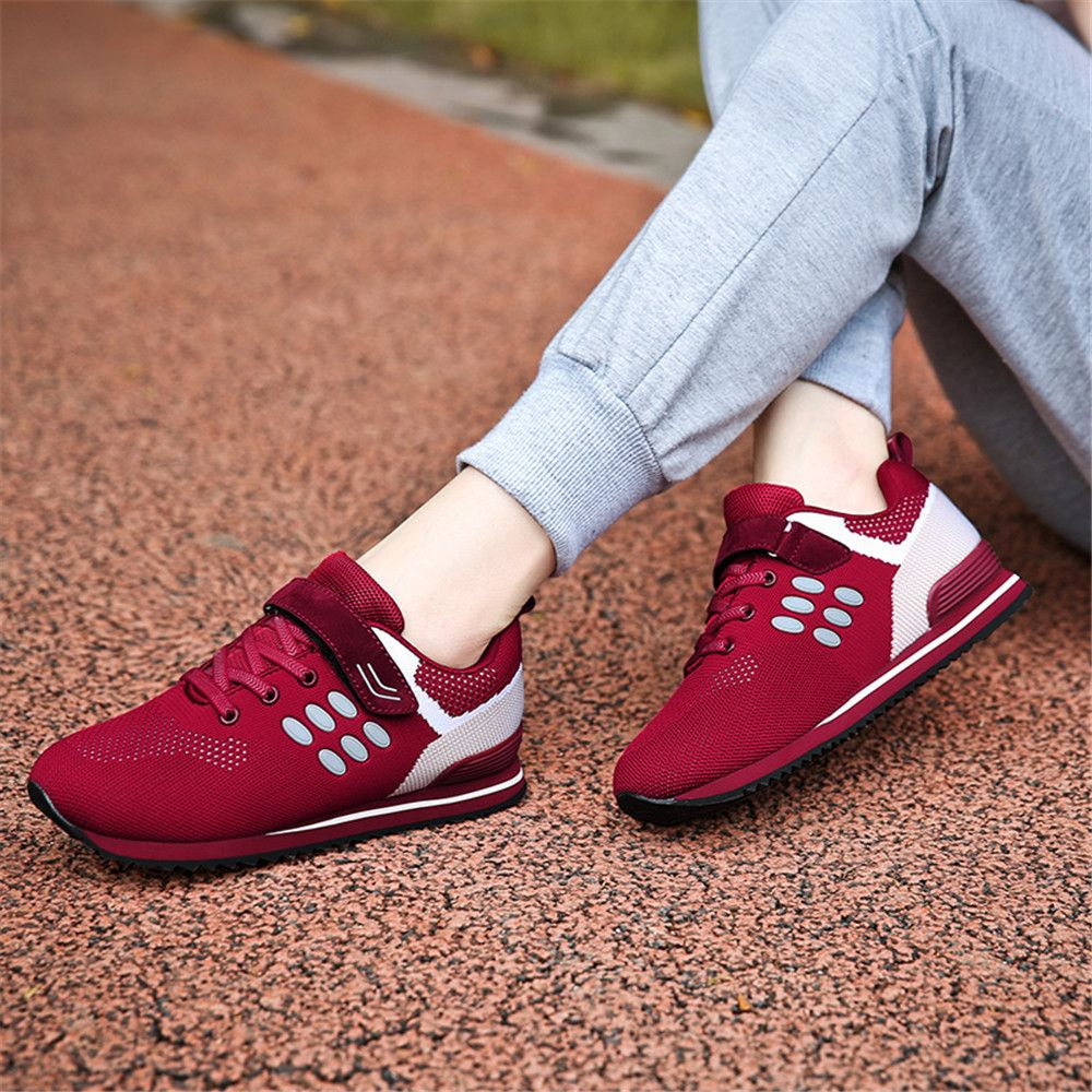 Walking Sneakers Ladies Jogging Outdoor Flat Soft Non-Slip Shoes
