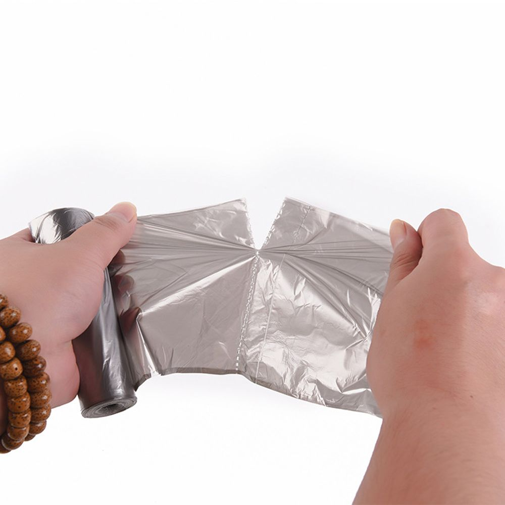 Silver Bag Garbage Bag Thickened Point Off Type
