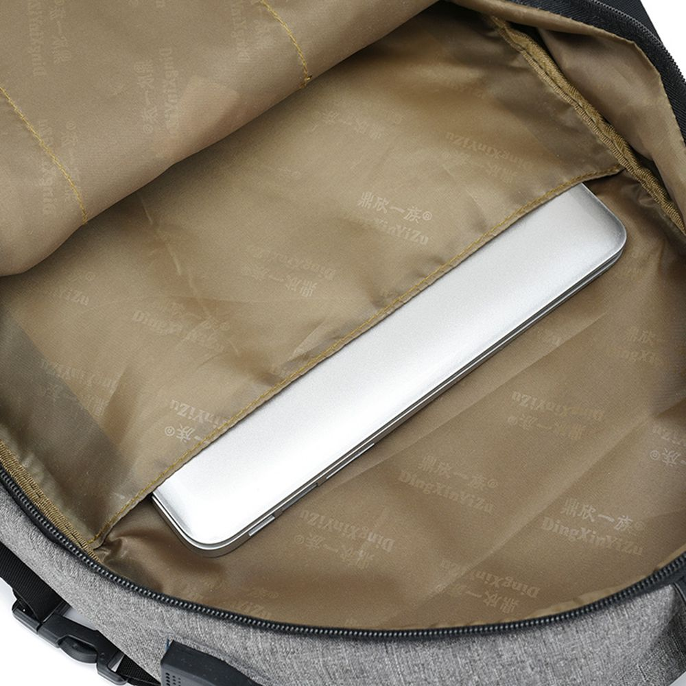 Canvas Shoulder Bag High-Capacity Computer Bag