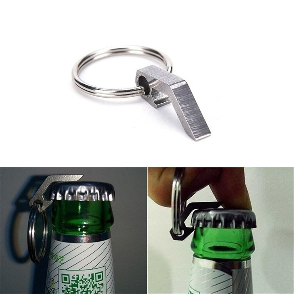 Can Opener Stainless Steel Multi-Function Key Ring