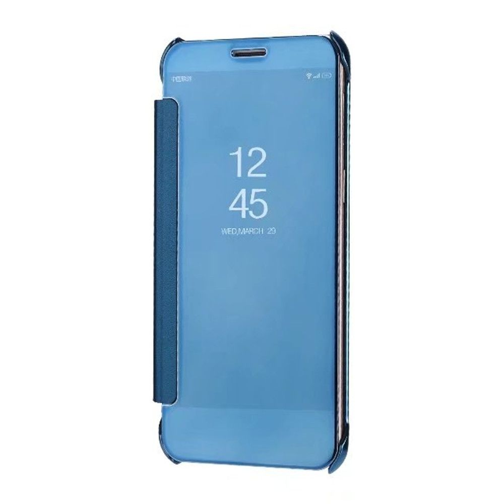 Case Cover For Samsung Galaxy A5(2018) Luxury Clear View Mirror Flip Smart