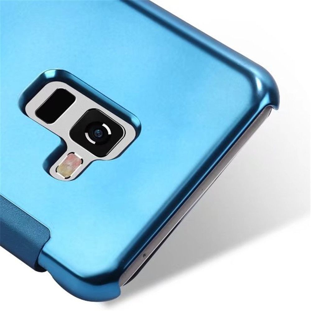 Case Cover for Samsung Galaxy A7(2018) Luxury Clear View Mirror Flip Smart