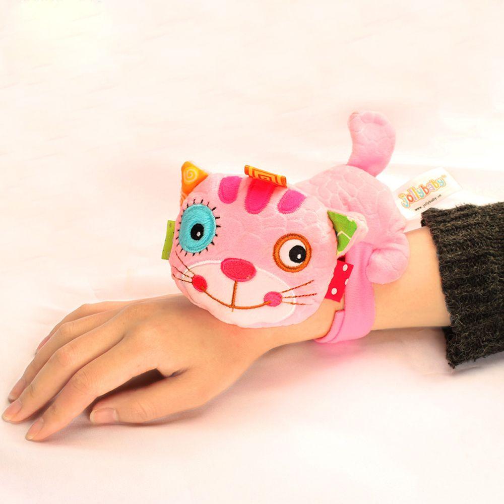 Pink Kitten - Lovely Animal Bed Plush Toy for Kids