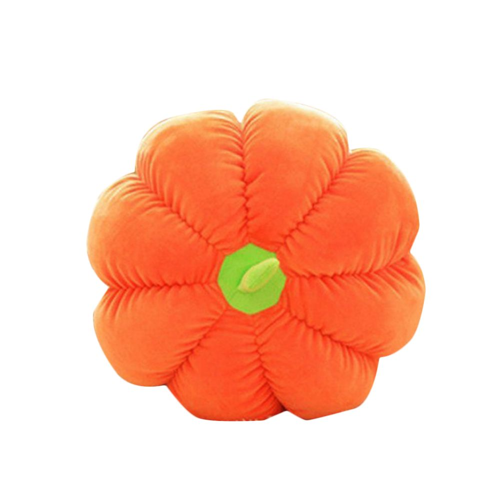 Pumpkin Style Plush Toy Throw Pillow