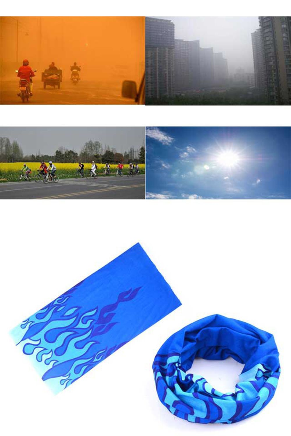 Cycling Scarf Bike Masks Men and Women Mountain Bike Changeable Bib Cycling Equipment