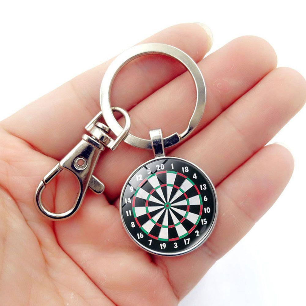 Dart Target Pendant Key Chain