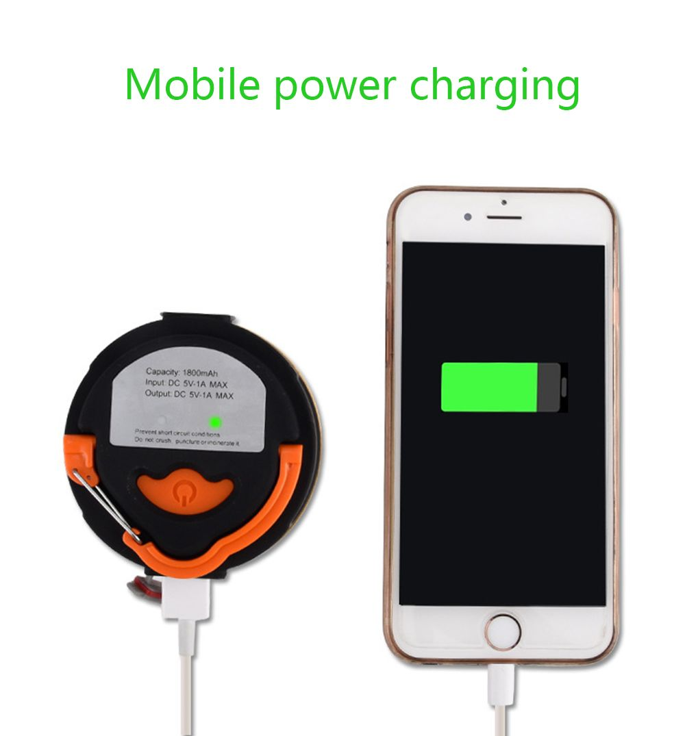 BRELONG  Camping Lights Emergency USB Charge Mobile Power