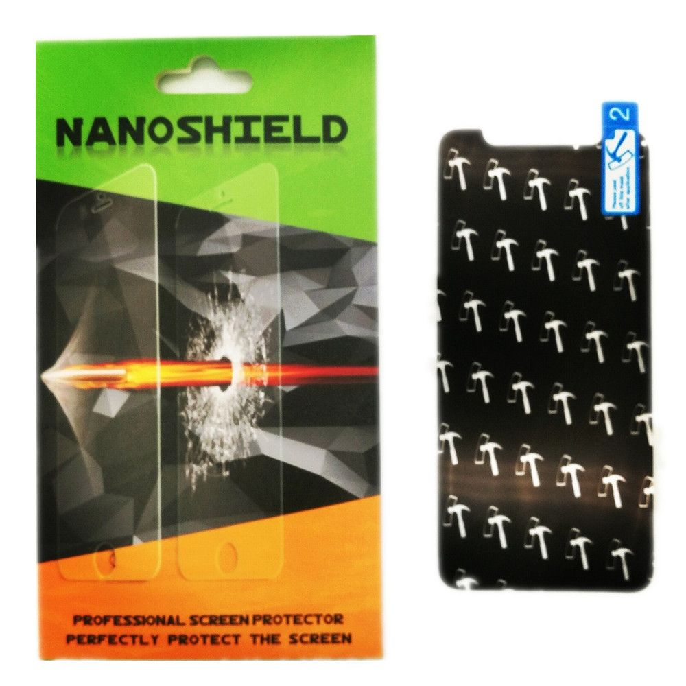5pcs SP-IX-NS+Nano Anti Shock+for iPhone X Nano Anti Shock Screen Protector+0.4mm