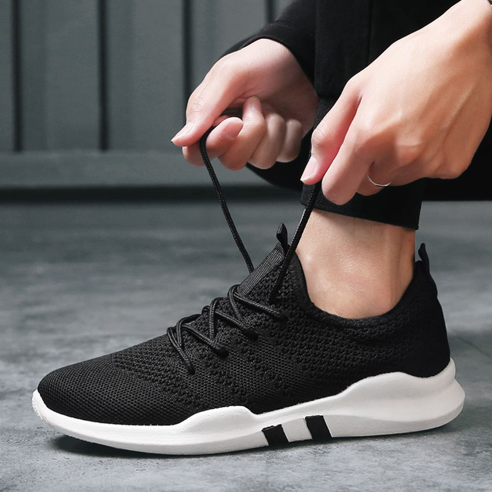 New Spring Breathable Athletic Shoes For Men