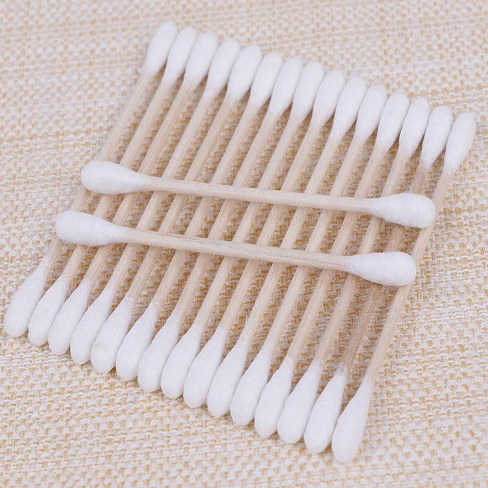 Disposable Makeup Remover Clean Cotton Swab Stick 500PCS
