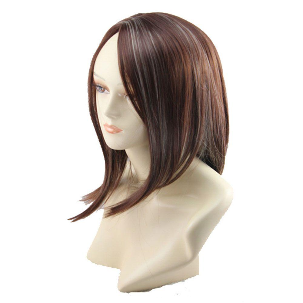 Ladies Fashion Long Straight Curly Wigs