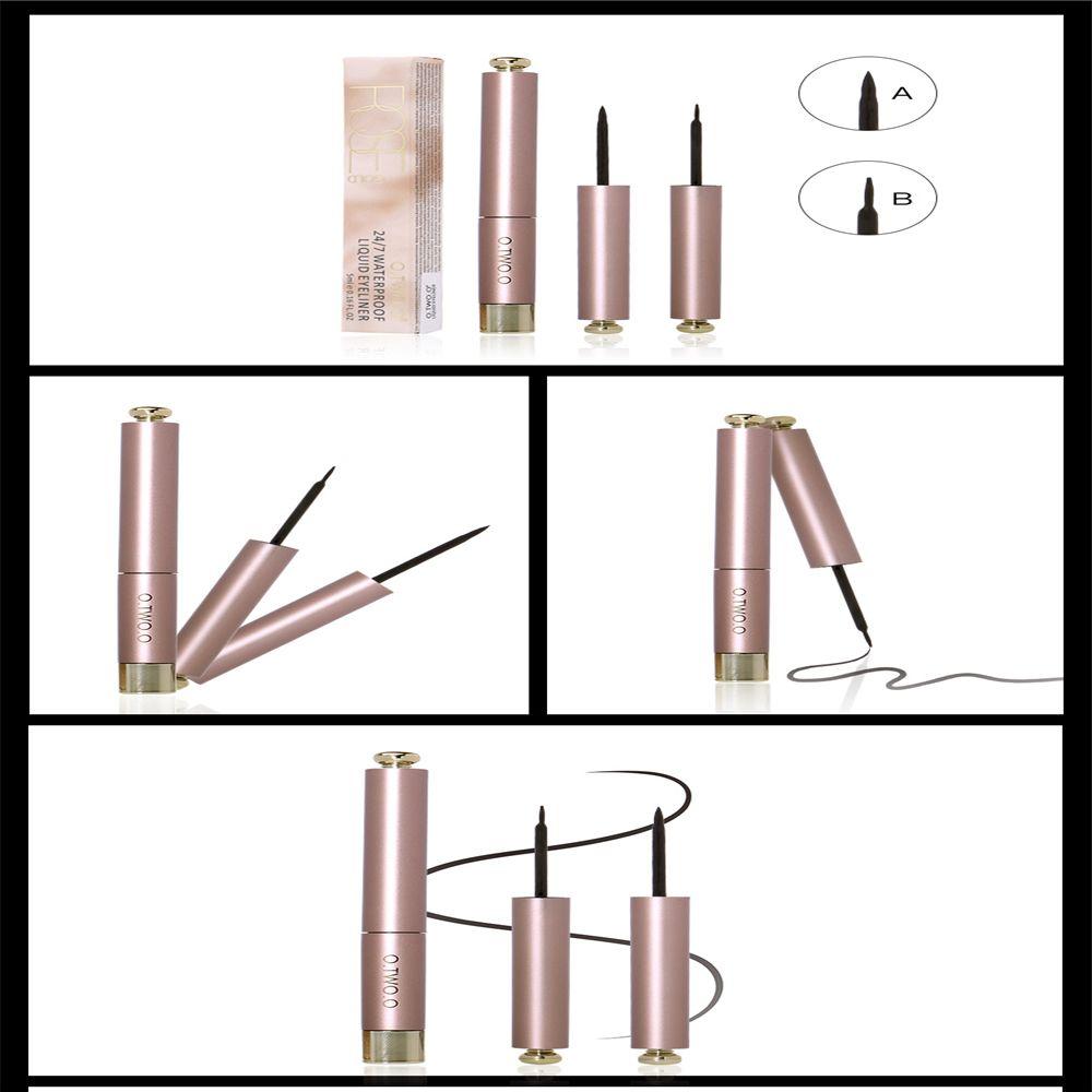 OTWOO Cool Cat Style Black Long-lasting Waterproof Liquid Eyeliner Eye Liner Pen Pencil Makeup Cosmetic Tool