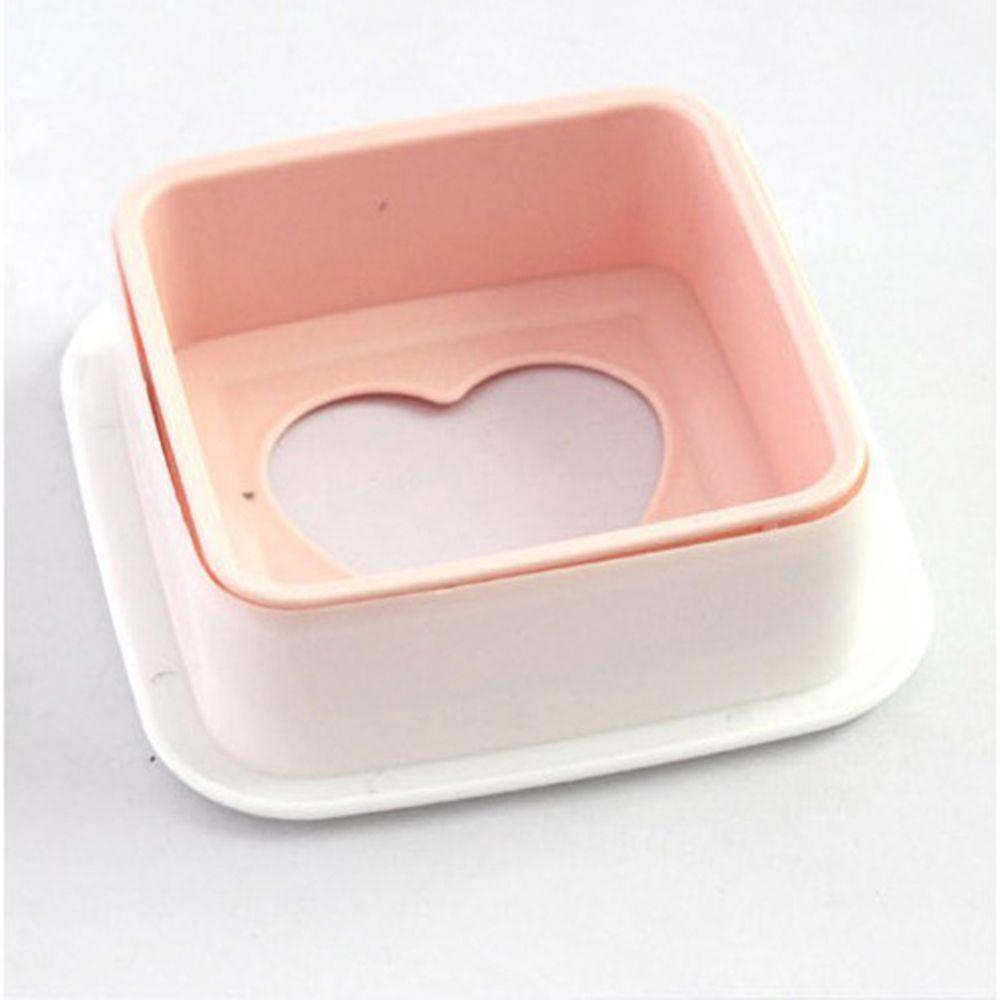 2 Pcs Pocket Sandwich Mold Maker Bento Balls Toast Baby Cake Bread Machine Cooking Tool