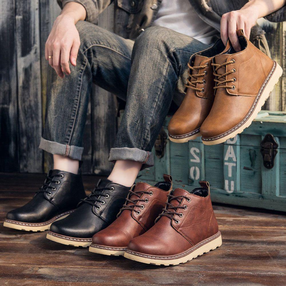 Fashion Worker Martin Boots