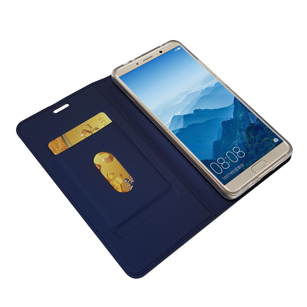 Leather Flip Case for Huawei Mate 10 Wallet Funda Book Cover