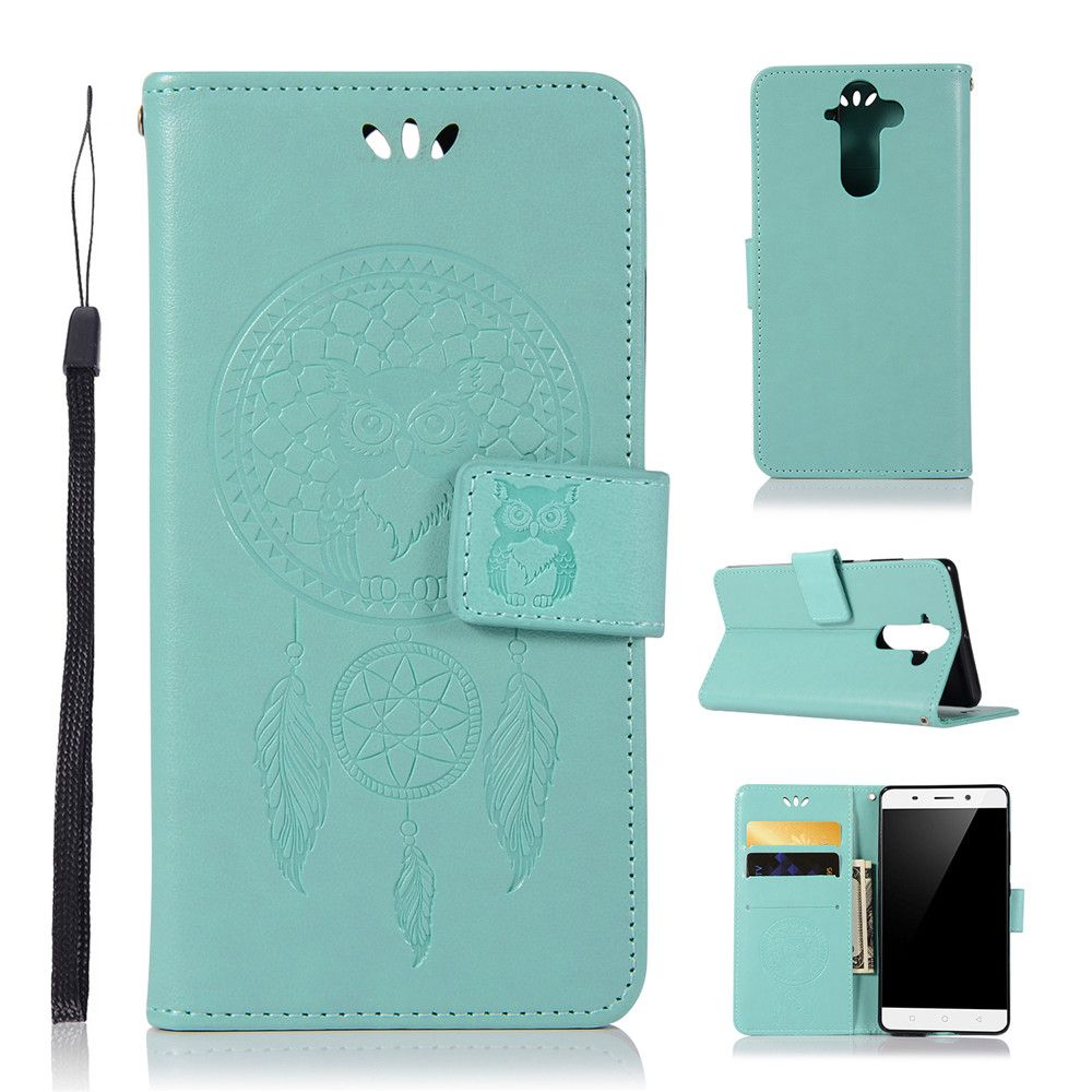 Owl Campanula Fashion Wallet Cover For Nokia 9 Case PU luxury Retro Flip Leather Case Phone Bag With Stand
