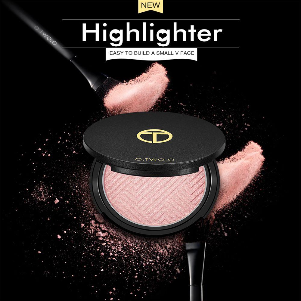 OTWOO Face Highlighter Powder Palette Makeup Shimmer Make Up Cosmetics Hills Trimmer Bronzer