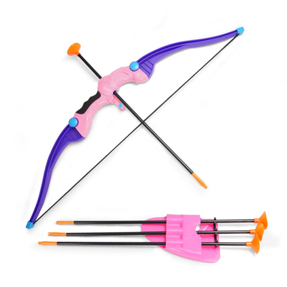 Bow  Arrow Children outdoor activity suction cup direct shooting toy suit