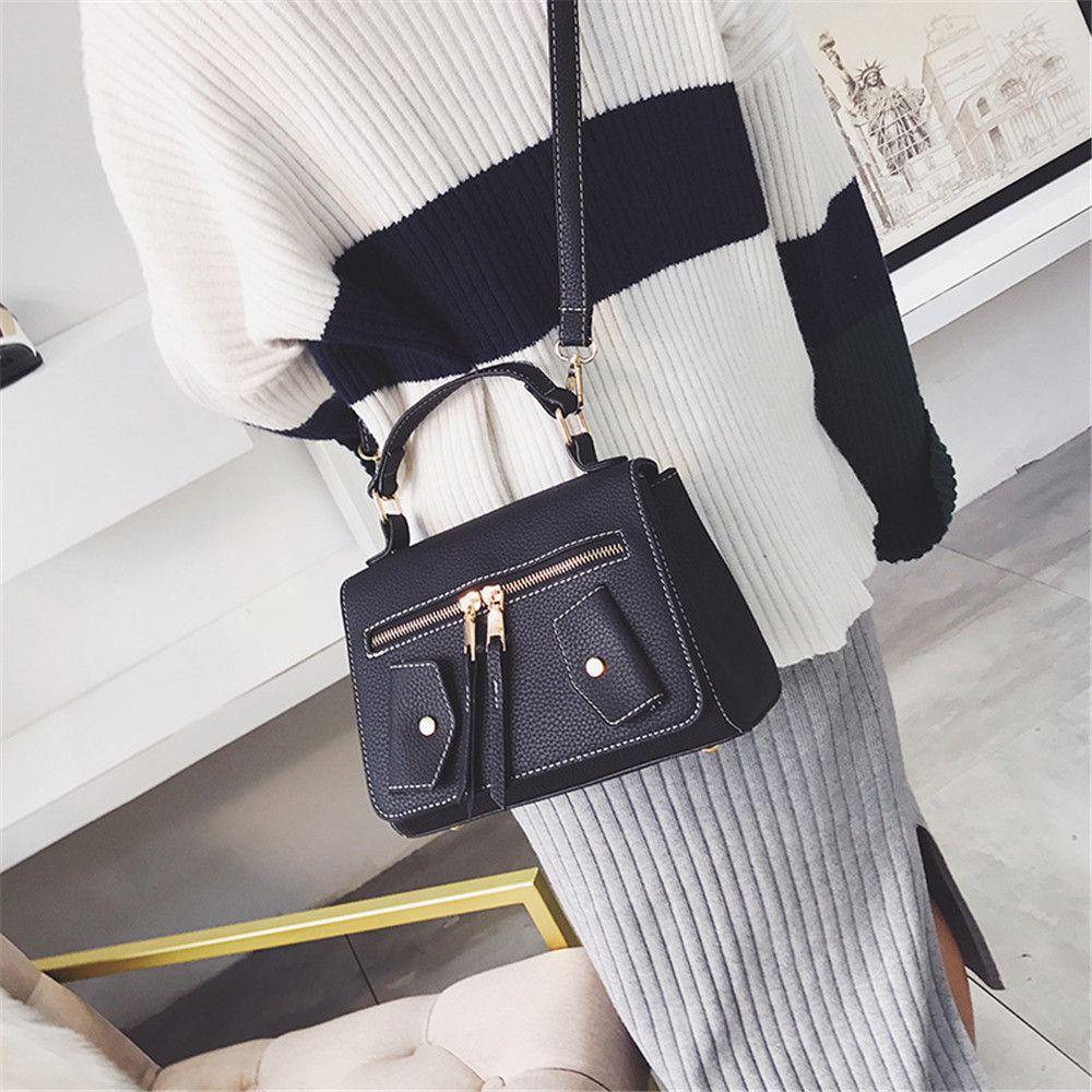 One Shoulder Wild Messenger Fashion Small Square Bag Handbags