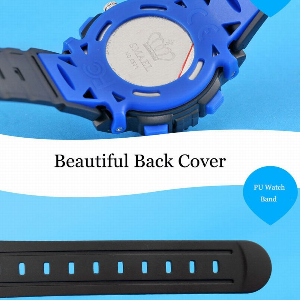Multi-function Waterproof Durable Sport LED Electronic Watch